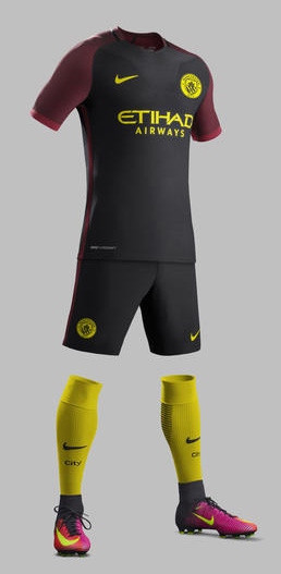 Manchester City Away Kit 16/17