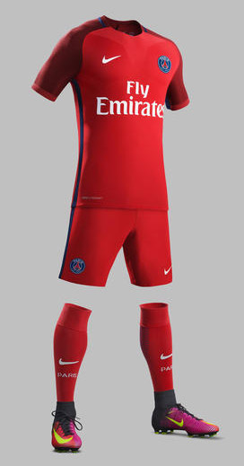 ef8aa87f6 Paris Saint-Germain Away Kit 16 17 Revealed - SoccerNation