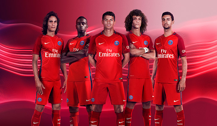 Paris Saint-Germain Away Kit 16/17 Revealed