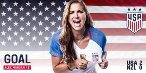 Alex Morgan Loaned to Lyon