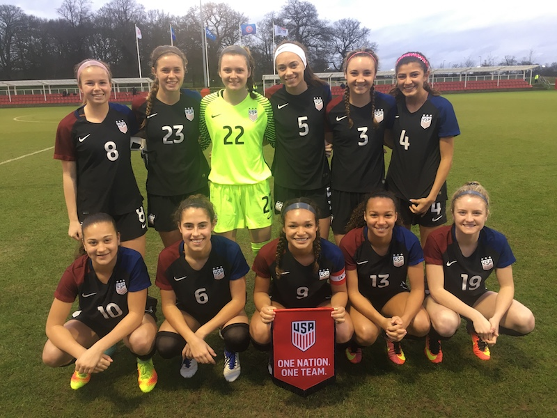 U.S. Youth National Team Update: 7 Cali Natives Called Up To U-14 BNT Camp; U-18 WNT Wins First Two Matches In England