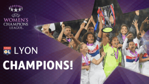 Alex Morgan Wins Women's Champions League With Lyon