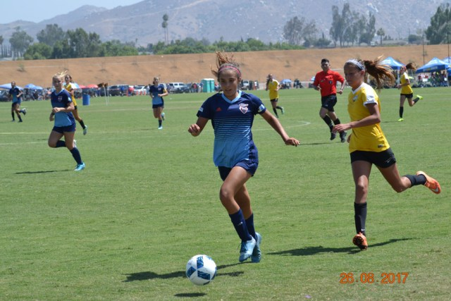 San Diego Soccer Club's Girls 2003 Qualify for US Youth Soccer's National League