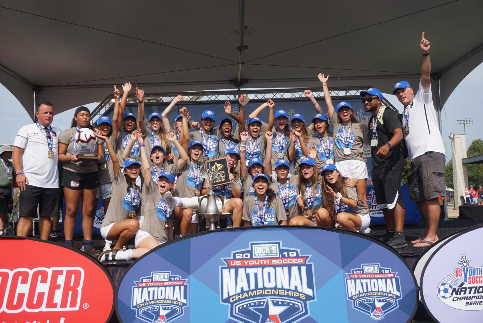 Locally Grown – Nationally Known: Rebels Girls 2001 Win U17 National Championship