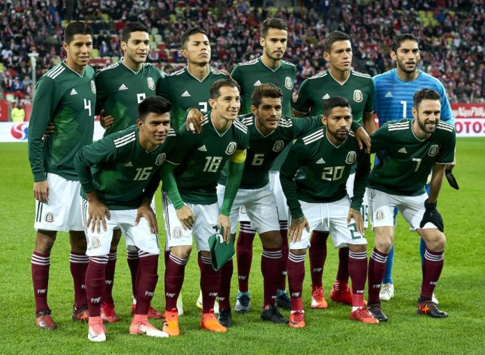Image result for current Mexican national team 2018