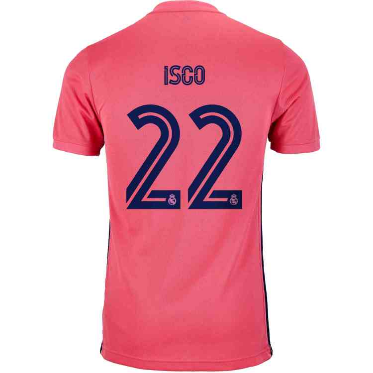 2020/21 adidas Isco Real Madrid Away Jersey - SoccerPro