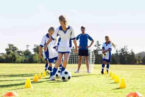 soccer coach equipment - cones