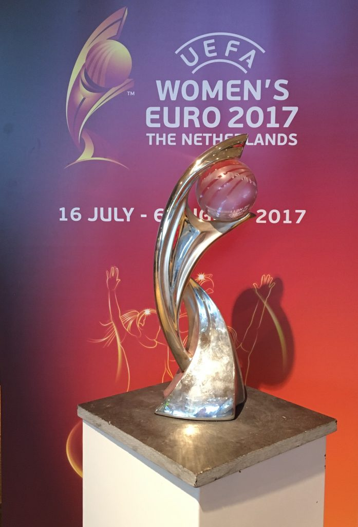 women's Euro 2017 beker