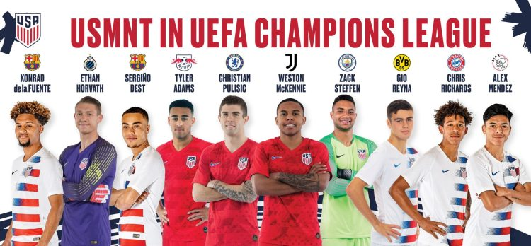 Ten USMNT players featured on UEFA Champions League ...
