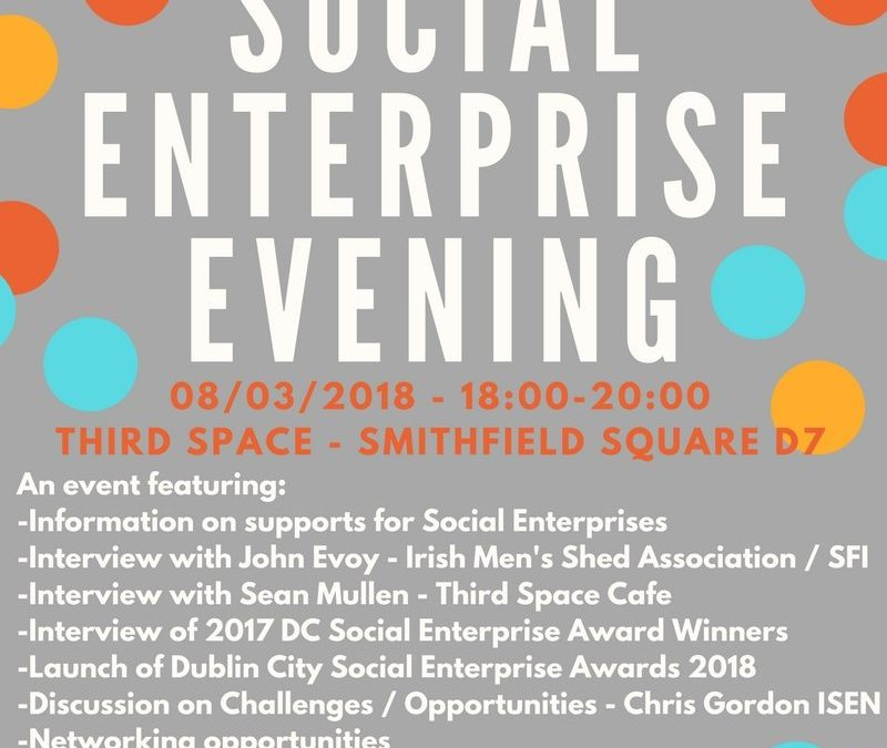 Social Enterprise Night 8th March!