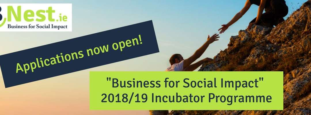 BNest Business for Social Impact 2018/19 Incubator Programme