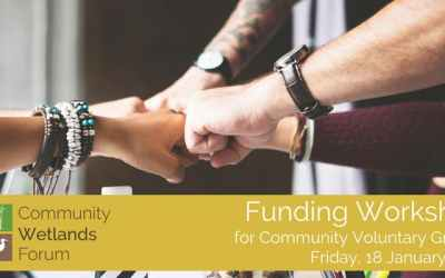 Funding Workshop Community Wetlands Forum