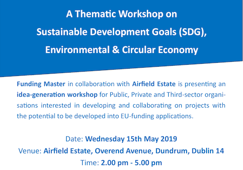 Sustainable Development Goals Workshop 15th May