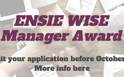 ENSIE is launching its WISE MANAGER AWARD