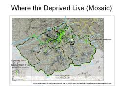 Deprived areas in Huddersfield