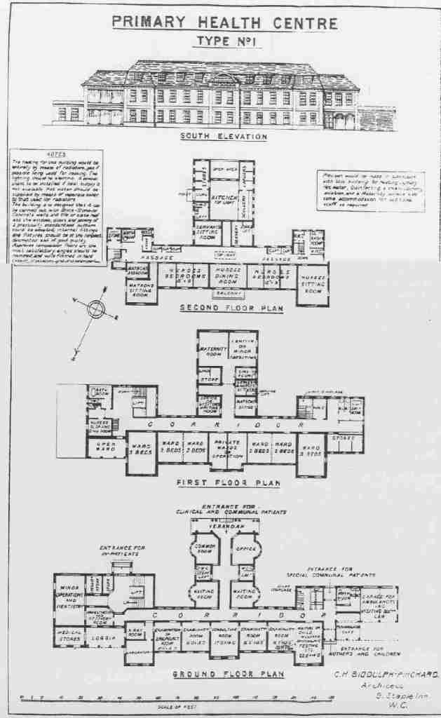Primary Health Centre design 1920