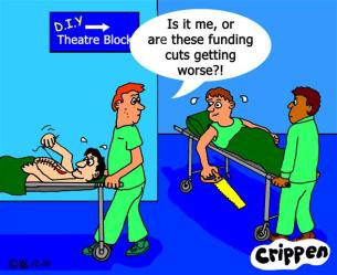 Cuts in the NHS