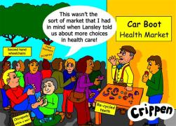 The market in health care