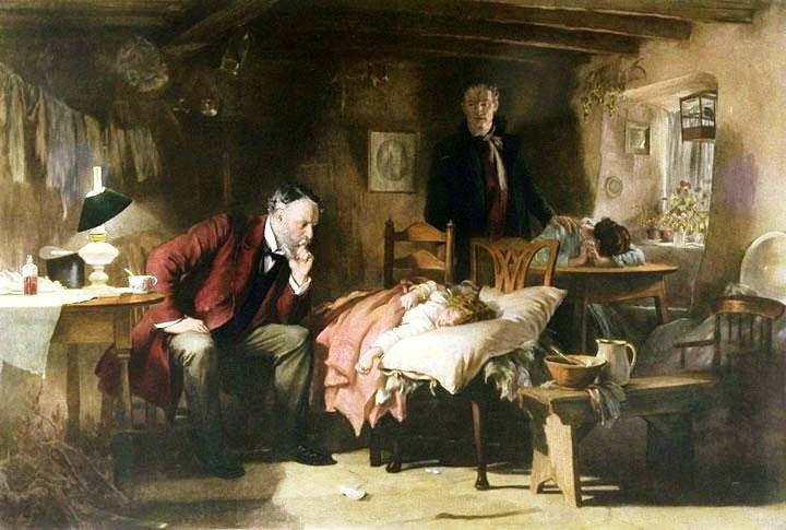 Luke Fildes The Doctor