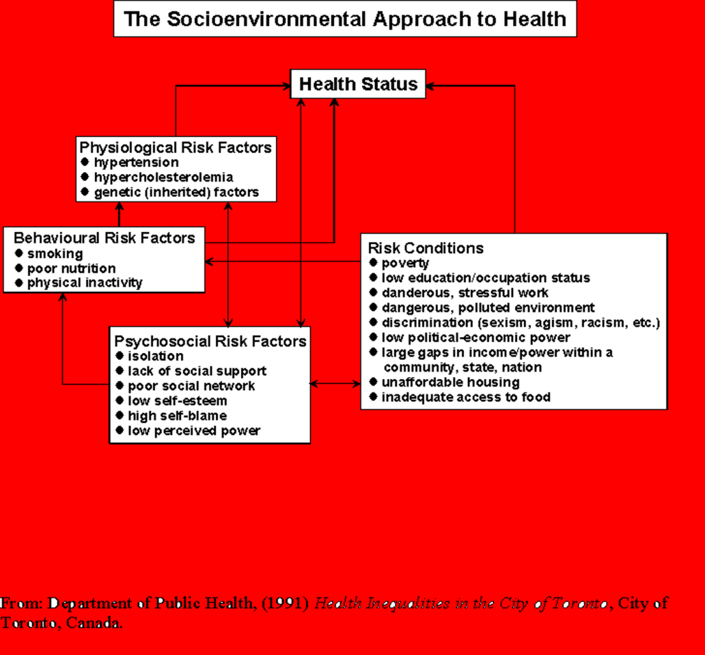 Socioenvironmental approach to health