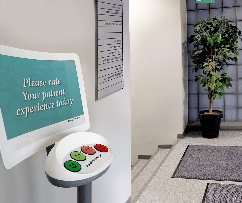 Electronic patient survey