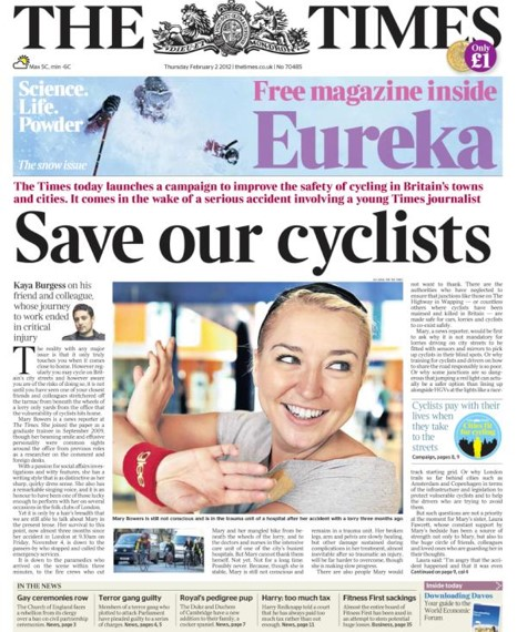 Save our cyclists