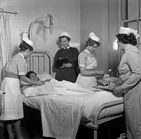 Hospital in 1948