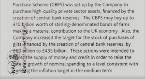 Bank of England report