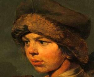 крестьянский мальчик Захарка на картине Венецианова