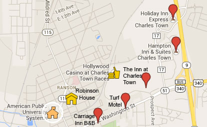 Charles Town Map