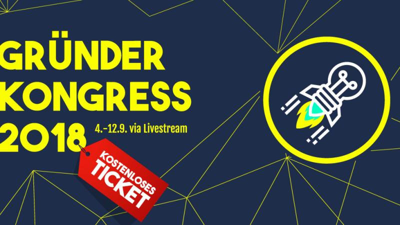 Gründerkongress 2018