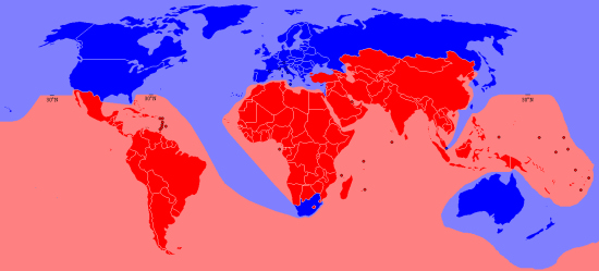 Economic North-South divide