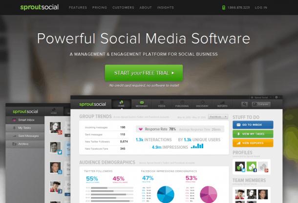 Sproutsocial Social Media Marketing