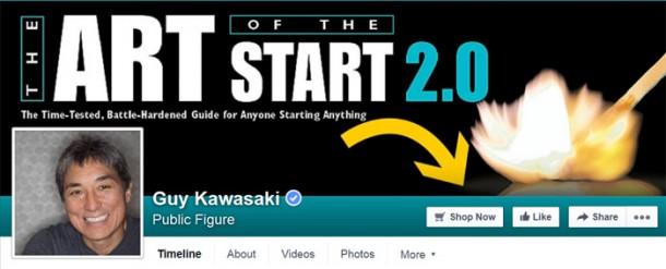 Guy Kawasaki conversiones Facebook
