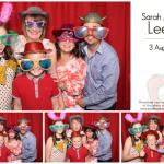 Sarah and Adrian Leeson wedding reception