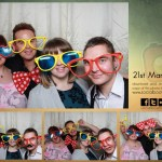 Mr & Mrs Bailey wedding photo booth