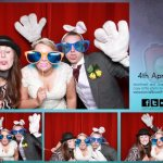 Jonathan & Hayley's wedding photo booth