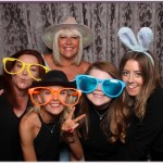 Ellie Mae's 21st birthday party photo booth