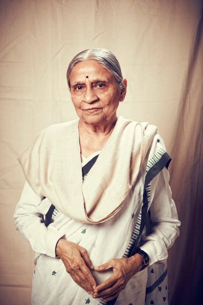 Ela Bhatt, Founder of SEWA, the Self-Employed Women's Assocation