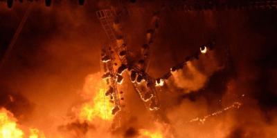 Mumbai Make in India Fire