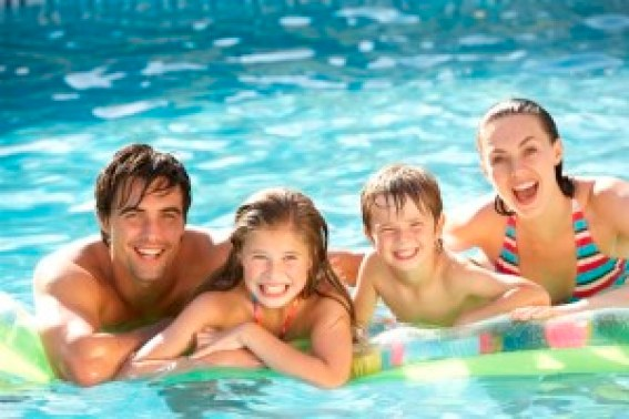 hit the pool with family this summer