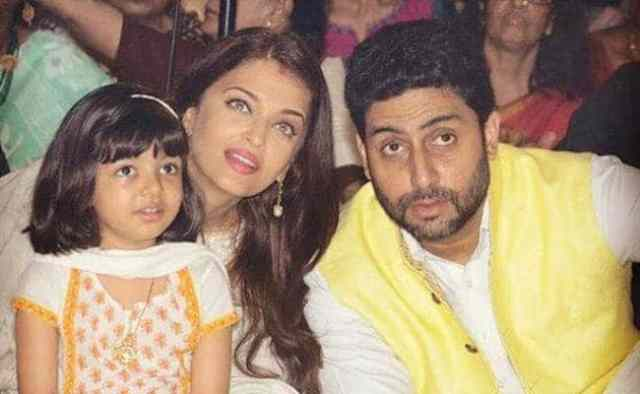 Aradhya Celebrates Durga Ashtami With Aishwarya, Abhishek & Big B