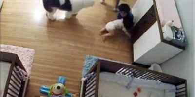Must watch: A Video of a Kid Miraculously saving Baby Brother's life