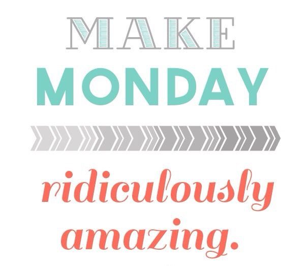 Time for yet another Monday, but let's rock it all the more...