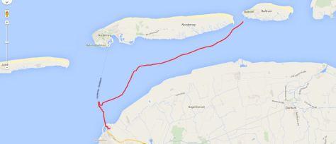 Baltrum Norddeich 09.2015 mit auflaufender Tide