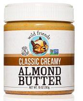 wild friends, almond butter, organic almond butter