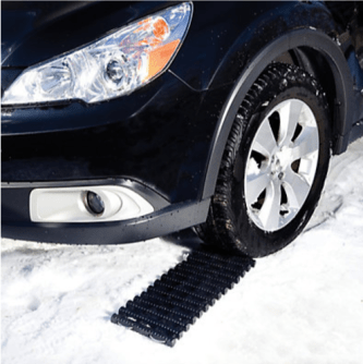 Snow Joe Snow Joe Auto Joe TrackAssist Thermoplastic Rubber Non Slip Traction for Your Car Green The Home Depot Canada