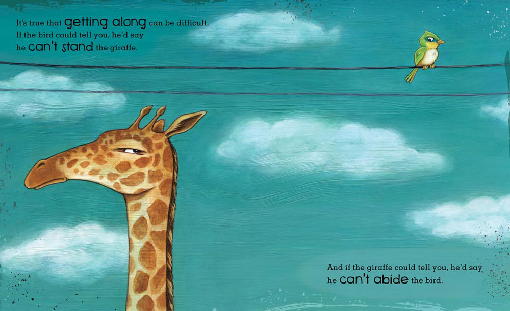 Giraffe and bird book, storytime for kids, TD books, TD grade one book, TD ready commitment, socialdad, dad blog, vancouver blogger, parenting bloggers, daddy blogger, socialdad.ca, james smith, james r.c. smith,