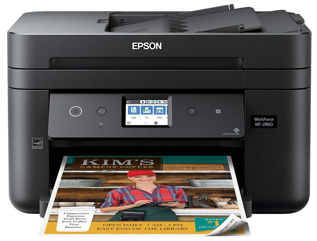 epson printers, wifi printers, scanners, printer for home office, what's the best home office printer, printers for small office, team printers, wifi printers for a home, workforce, wp-2860, epson 2860