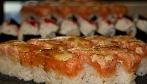 bc lions stadium food, restaurants at bc lions stadium, sushi, vancouver sushi